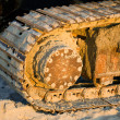 Caterpillar track — Stock Photo