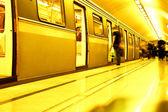 Subway. Underground station — Stock Photo