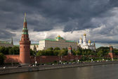 Kremlin's tower in Moscow — Stock Photo