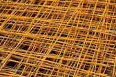 Rusty iron net — Stock Photo