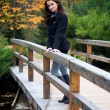 Beautiful girl in the autumn park — Stock Photo #1913801