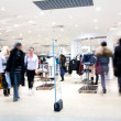 Shoppers at shopping center — Stock Photo #1913908