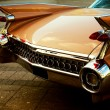 Back of vintage car - Stockfoto