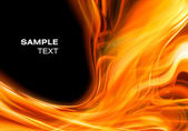 Abstract fire background — Stock Photo