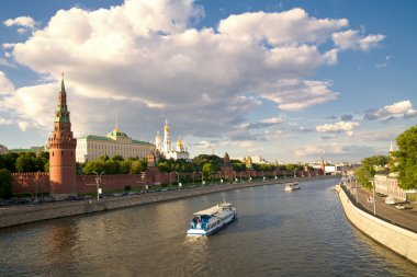 Kremlin's tower in Moscow
