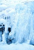Cachoeira congelada — Foto Stock