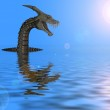 Monster on water — Stock Photo #2107881