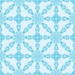 Blue abstract seamless repeat pattern — Imagen vectorial