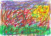 Child scribble — Stock Photo
