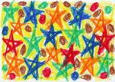 Child scribble — Fotografia Stock