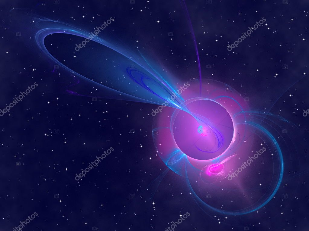 Abstract starry sky,  fantasy cosmic background — Stock Photo #2232229