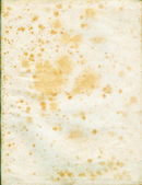 Yellowed paper sheet from old book — Stock Photo