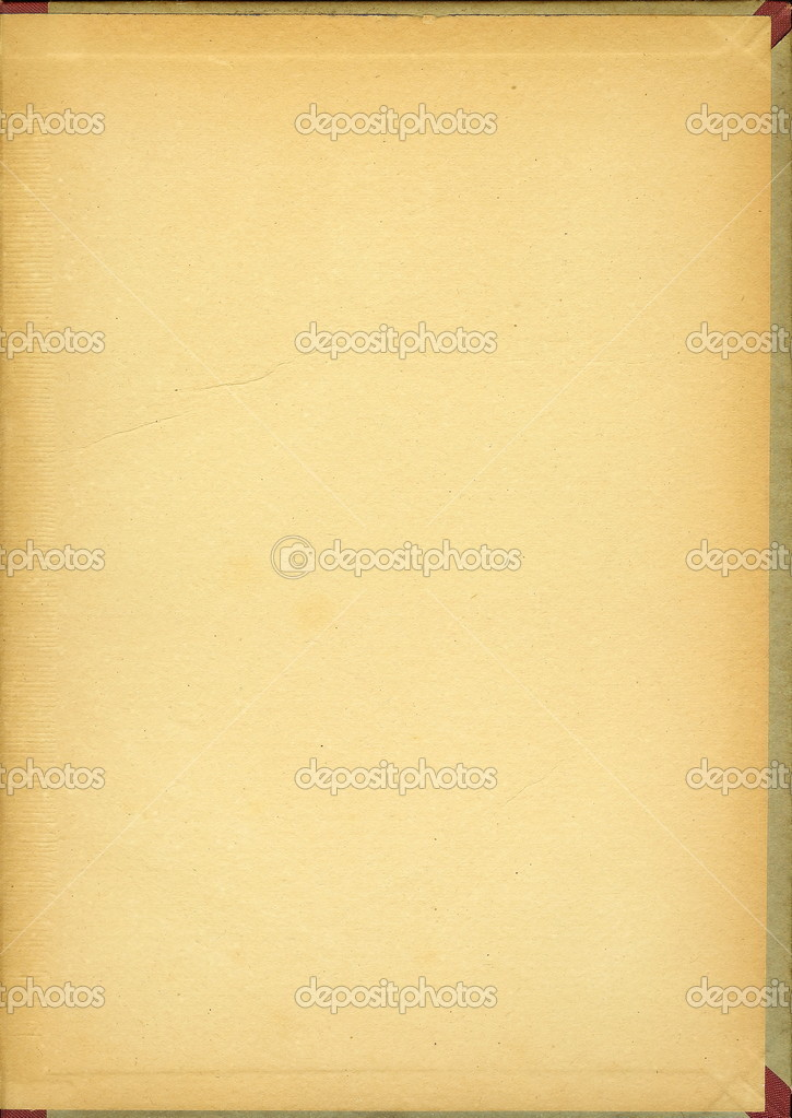 Old Book Cover Background ~ Old book cover vintage background — stock photo