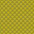 Stock Photo: Abstract seamless pattern, golden hearts