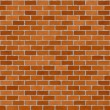 Red brickwall — Stock Photo