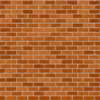 Stock Photo: Red brickwall