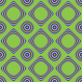 Abstract pattern with circles and square — Stock Photo