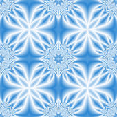 Blue-white abstract seamless background — Stock Photo