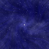 Starry night sky — Stock Photo