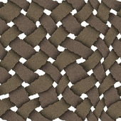 Wicker seamless texture — Stock Photo