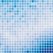 Blue abstract mosaic background — Stock Vector #2675116