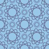 Flores abstractas de patrones sin fisuras — Vector de stock