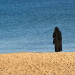 Stock Photo: Solitude nun
