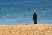 Solitude nun — Stock Photo