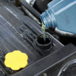 Change oil — Stockfoto