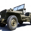 US army jeep - Stock Photo
