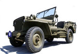 US army jeep — Stock Photo