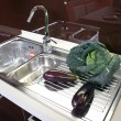 Kitchen sinks — Stock Photo