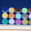 Colored dots - Stock Photo
