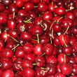 Juicy red cherries — Stock Photo
