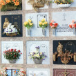 Foto Stock: Spanish cemetery
