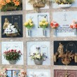 Spanish cemetery - Stock Photo