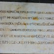 Latin inscription — Photo