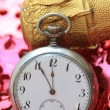Royalty-Free Stock Photo: Pocket watch counts down