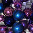 Royalty-Free Stock Photo: Purple and blue christmas ornament