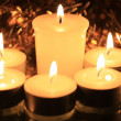 Stock Photo: Group of votive lights