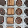 Stock Photo: Luxury Belgium chocolates