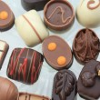 Luxury Belgium Chocolates - Stockfoto