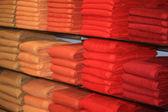 Folded towels — Stockfoto