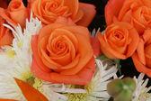 Orange rose bouquet — Fotografia Stock