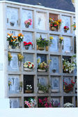 Spanish cemetery — Stock Photo