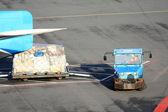 Airport cargo — Stock Photo