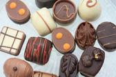 Cioccolatini di lusso belgio — Foto Stock