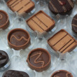 Belgium chocolates - Stockfoto