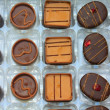 Chocolates in a presentation box - Stockfoto