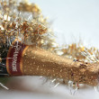 Champagne bottle — Stock Photo